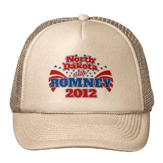 North Dakota with Romney 2012 Trucker Hats
