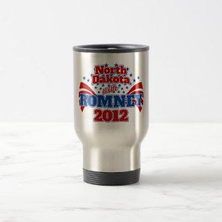 North Dakota with Romney 2012 Coffee Mugs
