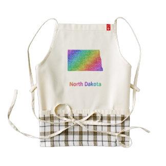 North Dakota Zazzle HEART Apron