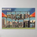 North DakotaLarge Letter ScenesNorth Dakota Posters