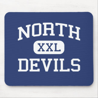 North - Devils - Junior - Collinsville Illinois Mouse Pad