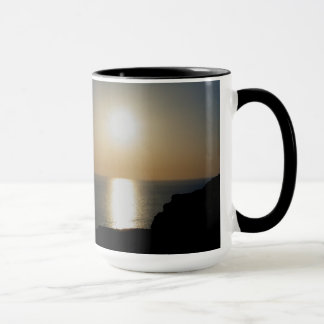 North Devon Hartland Volcanic Ash Sunset (4) Mug
