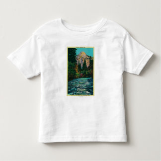 North Dome and Merced River from Happy Isles Toddler T-shirt