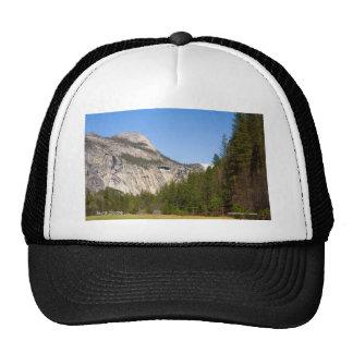 North Dome April Yosemite California Products Trucker Hats