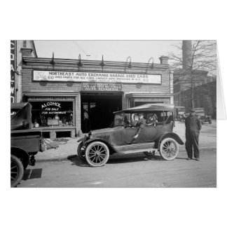 North East Auto Exchange, 1926 Card