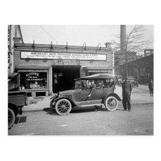 North East Auto Exchange, 1926 Postcard