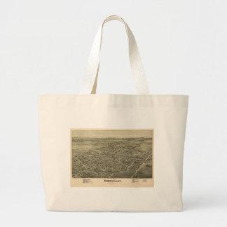 North East Erie County Pennsylvania (1896) Jumbo Tote Bag