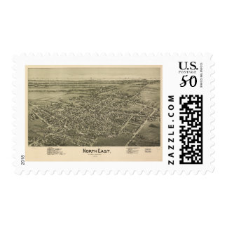 North East Erie County Pennsylvania (1896) Postage
