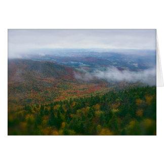 North East Kingdom, Vermont Folliage Card