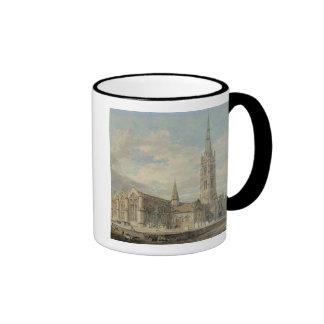 North-east View of Grantham Church, Lincolnshire, Mug