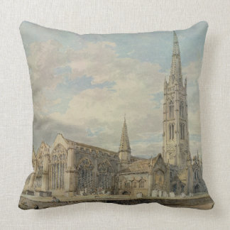 North-east View of Grantham Church, Lincolnshire, Pillows