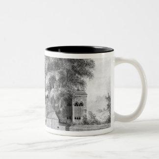 North-East View of King John's Palace Two-Tone Coffee Mug