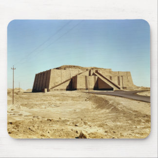 North-eastern facade of the ziggurat, c.2100 BC Mouse Pad