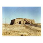 North-eastern facade of the ziggurat, c.2100 BC Postcard