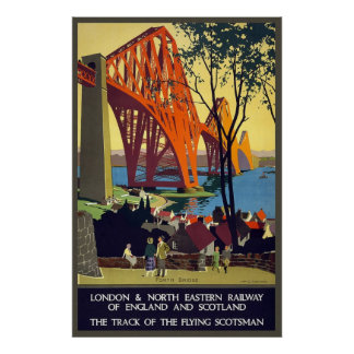 North Eastern Railway of England and Scotland Poster