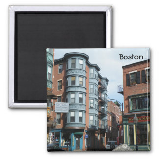 North End 2 Inch Square Magnet