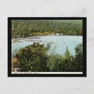 North End, Greenwood Lake, New York Vintage postcard