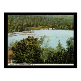 North End, Greenwood Lake, New York Vintage Postcard