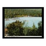 North End, vintage del lago greenwood, Nueva York Postales