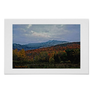 North face, Mt. Mansfield Posters