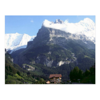 North face of the Eiger Postcard