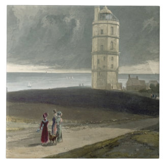 North Foreland Lighthouse, from 'A Voyage Around G Ceramic Tile