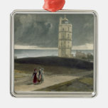 North Foreland Lighthouse, from 'A Voyage Around G Metal Ornament