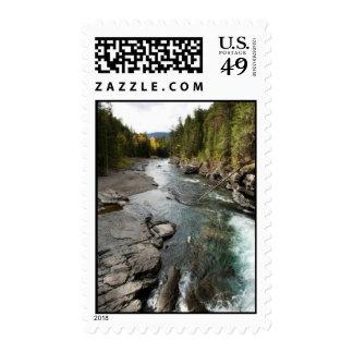 North Fork Flathead River Stamp