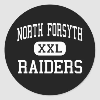North Forsyth - Raiders - High - Cumming Georgia Classic Round Sticker