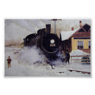 North Freedom Train Depot- poster