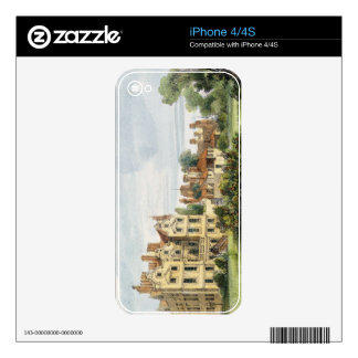 North Front, Old Palace, from the Queen's Garden, iPhone 4 Skin