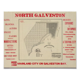 North Galveston Poster