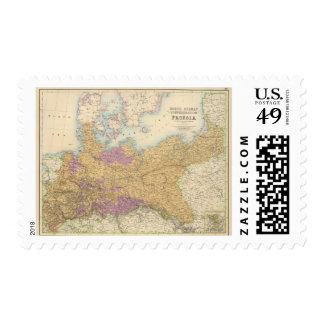 North German Confederation and Prussia Postage