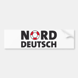 North German one Bumper Sticker