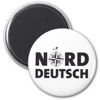 North German one Magnet