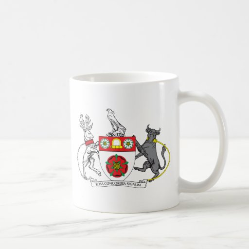 North Hamptonshire Coat of Arms Classic White Coffee Mug