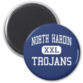 North Hardin - Trojans - High - Radcliff Kentucky 2 Inch Round Magnet