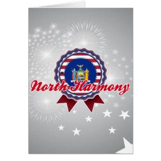 North Harmony NY Greeting Card