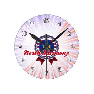 North Harmony, NY Round Wall Clock