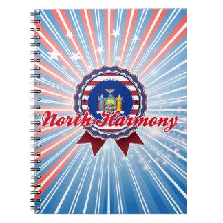 North Harmony NY Spiral Note Book