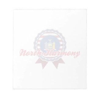 North Harmony NY Memo Note Pad