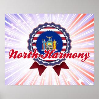 North Harmony NY Poster