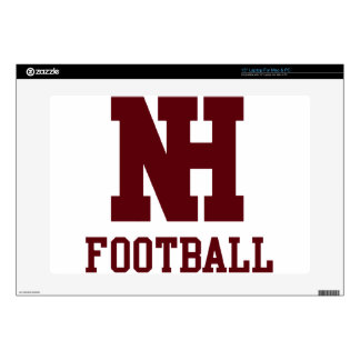 """North Haven Football 15"""" Laptop Decal"""
