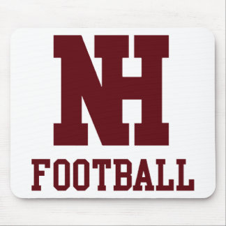 North Haven Football Mouse Pad