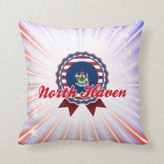 North Haven, ME Throw Pillow