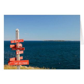 North Head, Grand Manan, NB Greeting Card