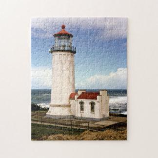 North Head Lighthouse, Washington Jigsaw Puzzle