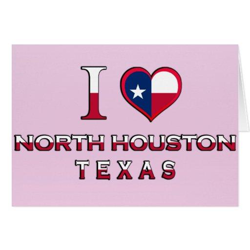 North Houston, Texas Greeting Card