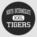 North Intermediate - Tigers - High - Broken Arrow Stickers