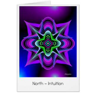 North-Intuition Greeting Card